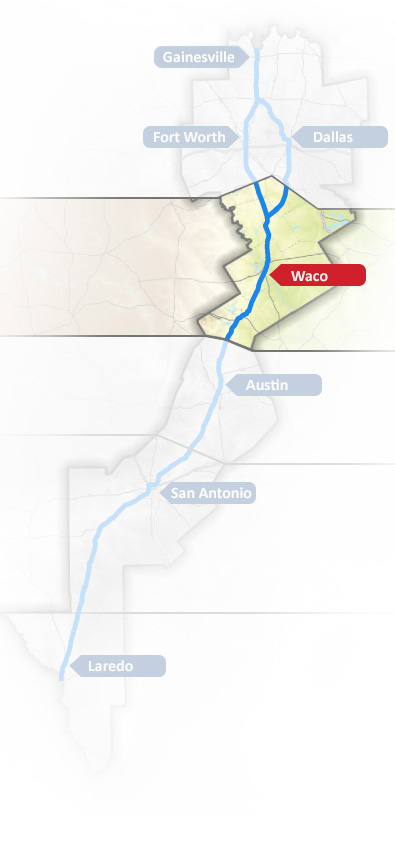 Central Map - Waco